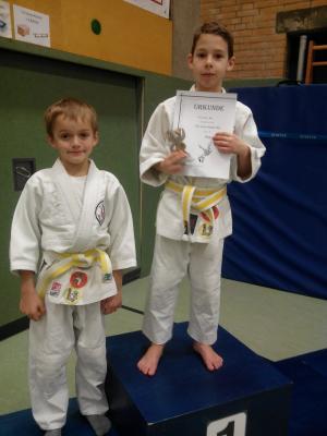 Foto zur Meldung: Maxi erkämpft Platz 1 bei den TuRa Junior Masters