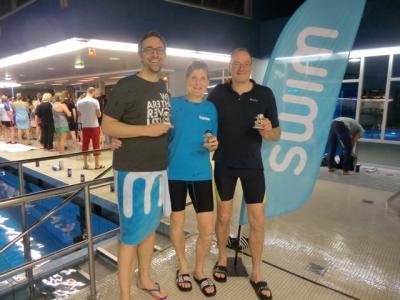 Foto zur Meldung: TSV Schwimmer beim Kult Training 100x100
