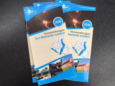 Foto zur Meldung: Druckfrisch! Über 230 Veranstaltungen im Jahresüberblick (März – Dezember) für die Ferienregion Scharmützelsee, Storkower See und Umgebung