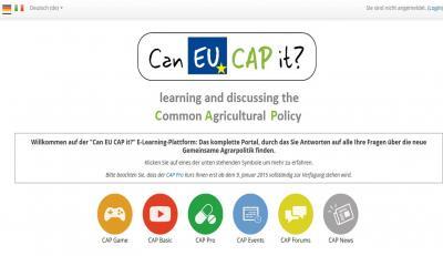 Foto zu Meldung: Informationen: Gemeinsame Agrarpolitik (GAP)