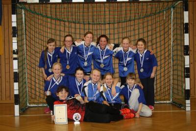 Foto zur Meldung: Kreisfinale Jugend trainiert Handball WK IV