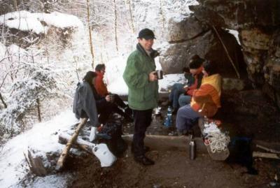 Foto zur Meldung: 1. Silvesterwanderung