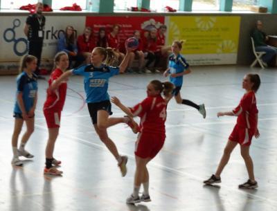 Foto zur Meldung: C-Jugend Nicht schön gespielt, aber gewonnen!