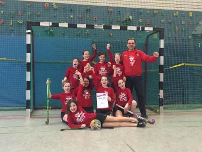 Foto zur Meldung: Mädchen C in der Endrunde der Trophy