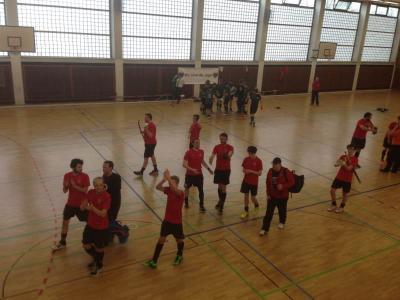 Foto zur Meldung: Hockey – PSU Herren kämpfen, siegen und verlieren dennoch