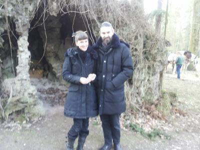 Dirk und Fiona, das junge Paar von Heinrichshorst
