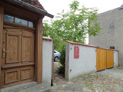 Vorschaubild zur Meldung: Zugang zum Klostergarten bald über die Weberstraße