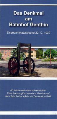 """Foto zu Meldung: Neuer Flyer """"Das Denkmal am Bahnhof Genthin"""" als Gästeinformation"""