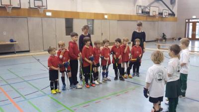 Foto zur Meldung: Hallo, wir sind die Knaben E der Potsdamer Sport-Union.