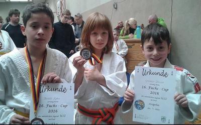 Foto zur Meldung: Judokas des SC Hemmingen-Westerfeld beim 16. Fuchs–Cup
