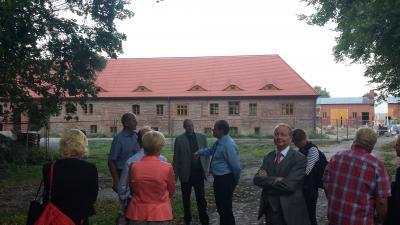 Foto zur Meldung: Besichtigung und Erfahrungsaustausch: 300-kW-Hackschnitzel-Heizung Schlossgut Altlandsberg