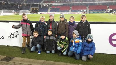 Foto zur Meldung: Nun waren wir bei Hannover 96