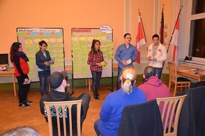 Foto zur Meldung: Erstes gemeinsames Treffen der Initiativgruppen kam gut an/