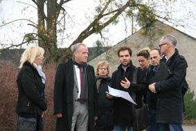 Foto zur Meldung: Kreisreise: Landrat besucht Gemeinde Wandlitz