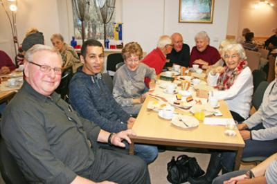 Foto zur Meldung: Flüchtlinge zu Gast im Wandlitzer AWO-Club