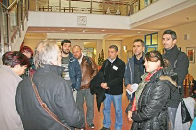 Foto zur Meldung: Türkische Multiplikatoren besuchen Wandlitz