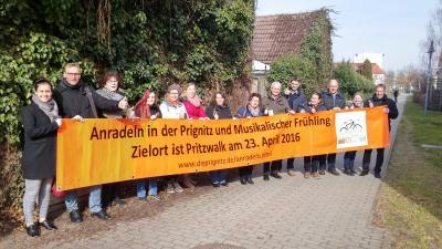 Foto zu Meldung: Anradeln in der Prignitz - 23. April 2016