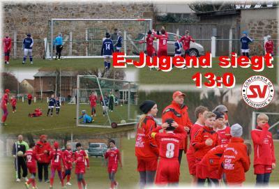 Foto zu Meldung: E-Jugend siegt 13:0 !