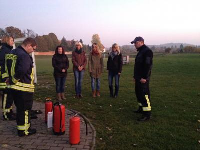 """Foto zur Meldung: Wissenswertes rund um das Thema """"Brandbekämpfung""""!"""