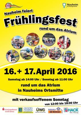 Foto zur Meldung: Nauheim feiert Frühlingsfest am 16. und 17. April