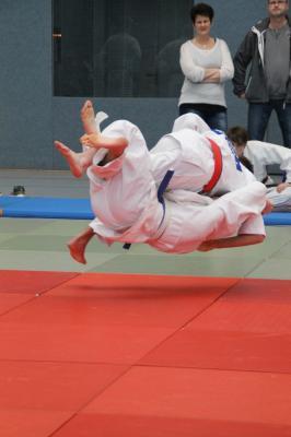 Foto zur Meldung: 19. KJSS im LK OSL , Eröffnungsveranstaltung im Judo