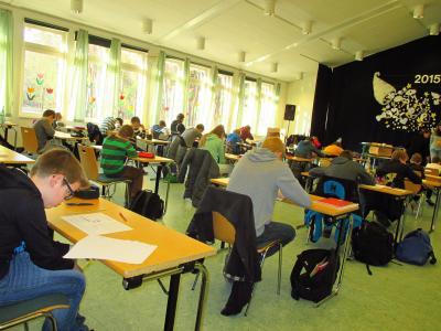 Foto zur Meldung: 15 Jahre Känguru-Wettbewerb an der Oberschule mit Grundschulteil Glöwen