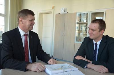 """Foto zur Meldung: Stephan Hornak ist der """"Neue"""" im Bereich Landrat"""