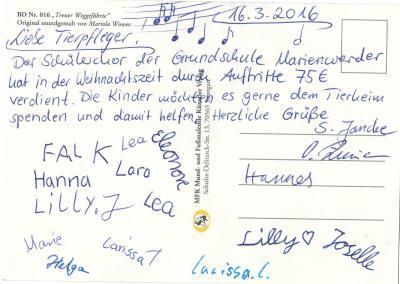 Foto zu Meldung: Besuch der Grundschule Marienwerder