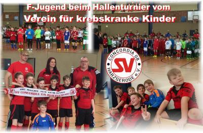 Foto zu Meldung: F-Jugend Turnier vom Verein krebskranker Kinder