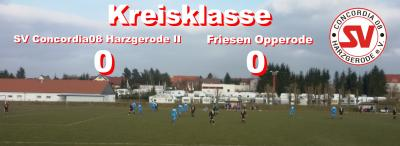 Foto zu Meldung: Kreisklasse: 2. Herrenmannschaft trennt sich Unentschieden