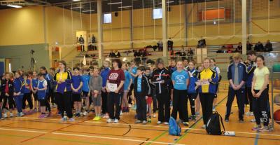 Foto zur Meldung: KM Hallen-Mehrkampf U8 - U20 2016