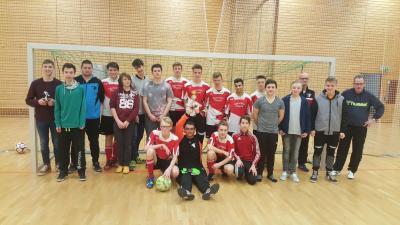 Foto zur Meldung: B-Junioren / Plauer Junioren vereint mit Handballern