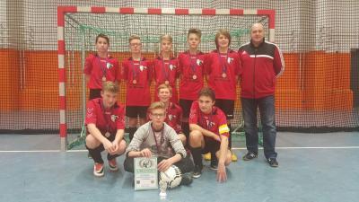 Foto zur Meldung: C-Junioren / Erfolgreich in Rückrunde gestartet