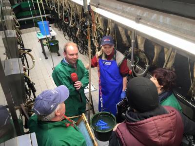 Vorschaubild zur Meldung: Landesmelkwettbewerb 2016 in der Landwirtschafts-GmbH Finsterwalde
