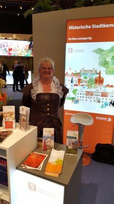 Foto zu Meldung: Standbetreuung bei der ITB in Berlin (Internationale Tourismus Börse) durch die Stadt Uebigau - Wahrenbrück