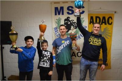 Foto zur Meldung: MSC Waldkappel-Breitau ehrt erfolgreiche Motorsportler