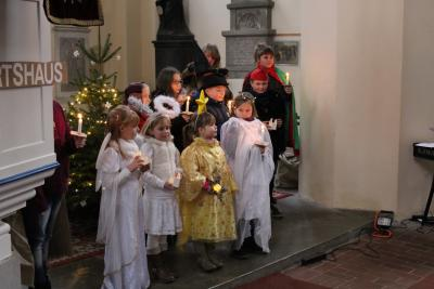 """Foto zu Meldung: Kindermusical """"Unser kleiner Stern"""" in der Kirche Freyenstein"""