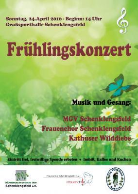 Foto zu Meldung: 24.04.2016 Frühlingskonzert im Bürgerhaus