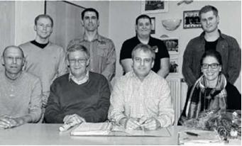Foto zur Meldung: Jahreshauptversammlung des TSV Biebelried mit Neuwahlen