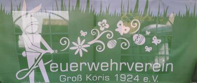 Foto zur Meldung: 26.03.2016 Osterfeuer in Klein Köris