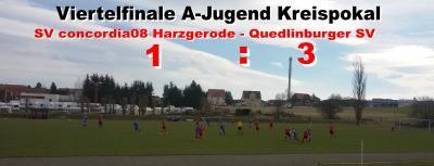 Foto zu Meldung: A-Jugend verliert Pokalspiel gegen Quedlinburg