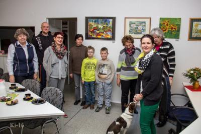 Foto zu Meldung: Raxli-Faxli besucht Abgeordnete Frau Simona Koß