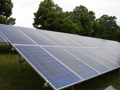 Foto zu Meldung: Solarfeld an der Ostbahn
