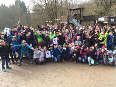 Foto zur Meldung: Zooschule der Puricelli-Realschule plus trifft Grundschule