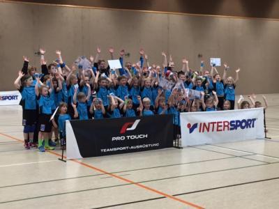 Foto zur Meldung: Erfolgreiches Handball-Camp