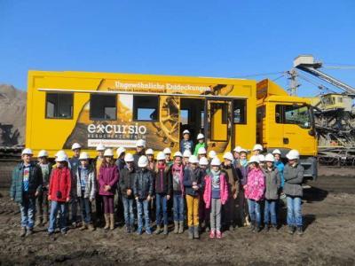 Foto zu Meldung: Energie aus Kohle-Praxisnaher Erdkundeunterricht