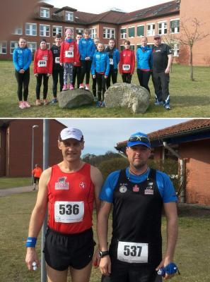 Foto zur Meldung: Landesmeisterschaftsmedaillen für Laager Marathon-Duo