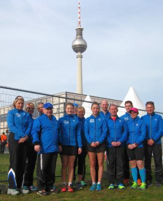 Foto zur Meldung: 36. Berliner Halbmarathon mit Laager Lauf-Enthusiasten