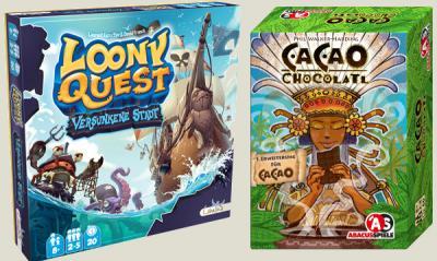 Vorschaubild zur Meldung: CACAO und LOONY QUEST Erweiterungen erschienen