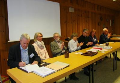 Vorschaubild zur Meldung: Hubert Jocham ist neuer Vorsitzender des Hospizvereins